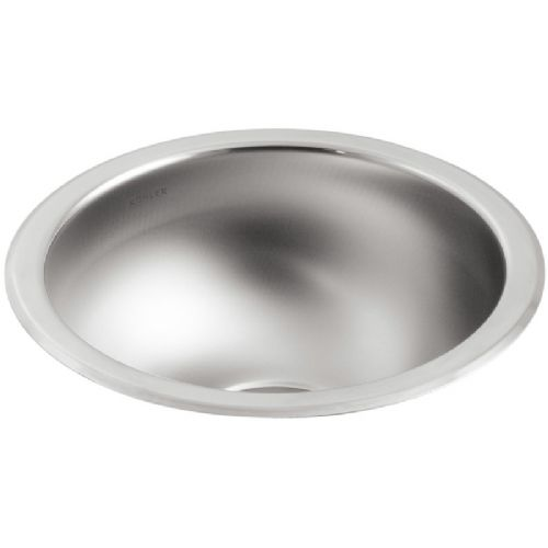 Kohler Icerock Stainless Steel Under-Mount Kitchen Bowl - 3339W